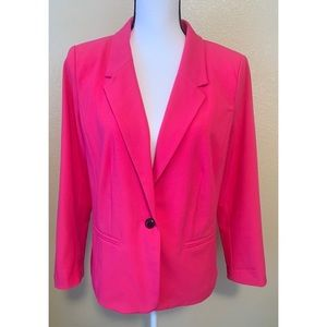Kensie size large hot pink blazer